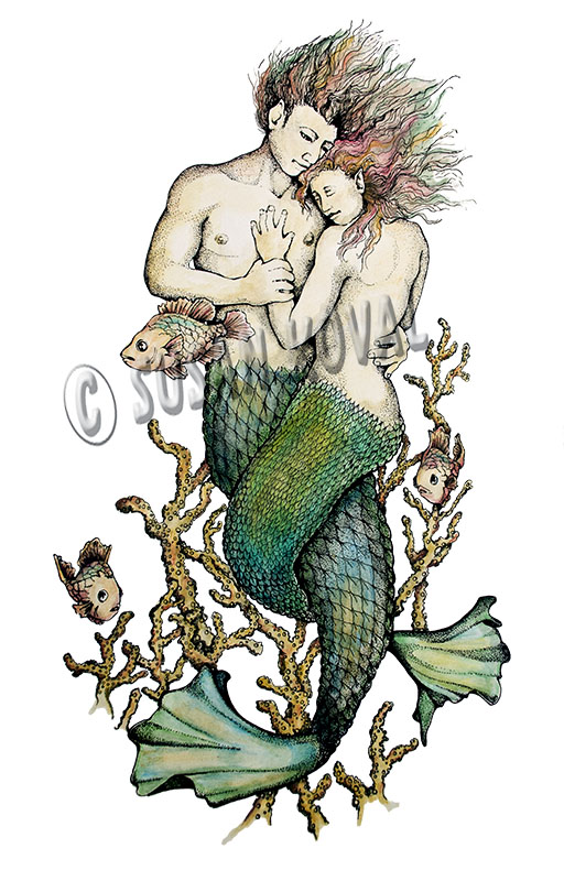 Mermaid Merman